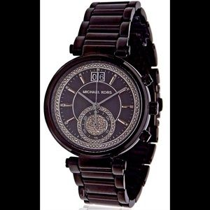 Michael Kors special edition Sawyer Black Watch